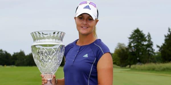Anna Nordqvist aus Schweden holt sich ihren sechsten Karrieresieg beim ShopRite LPGA Classic. (Foto: Getty)