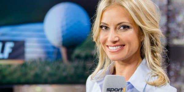 Sarah Valentina Winkhaus spielt seit Jugendtagen selber Golf und moderiert nun BMW International Open in der Free-TV-Übertragung bei Sport1.