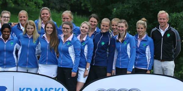 Spieltagssieger und neuer Spitzenreiter: Die Damen des GC Hubbelrath (Foto: DGV/stebl)