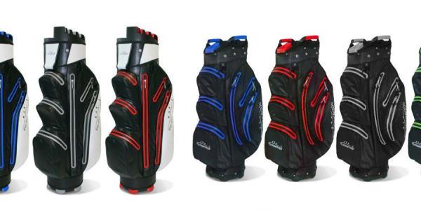 PG-PowerGolf hat zwei neue Bags im Sortiment, die es in verschiedenen Farbkombinationen zu kaufen gibt. (Foto: PG-PowerGolf)