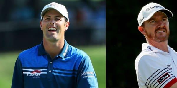 Robert Streb (l) und Jimmy Walker liegen unerwartet an der Spitze der PGA Championship. (Foto: Getty)