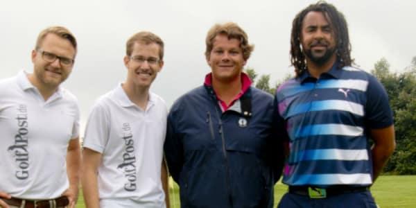 Golf Post traf Patrick Owomoyela zu einer Runde Golf im GC Oberberg.