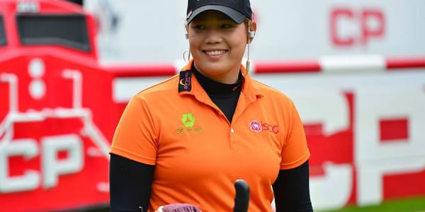 Ariya Jutanugarn aus Thailand bei der Canadian Pacific Women's Open. (Foto: Twitter/@LPGATour)
