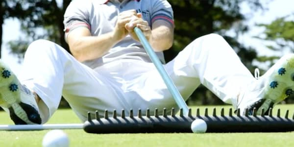 Golf Video Tin Cup Challenge PGA Tour Pros Robert Streb Ben Crane