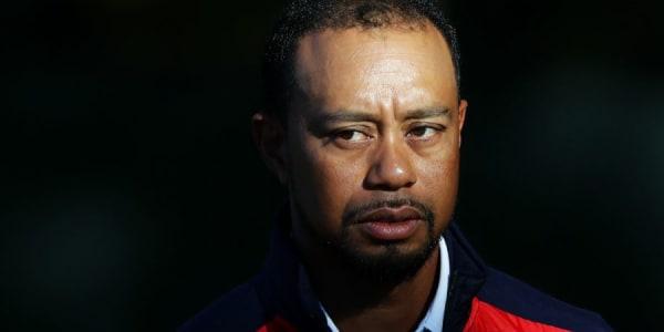 Bleibt er als Vize-Kapitän im Hintergrund oder verdrängt er Team USA aus dem Schlaglicht? Tiger Woods beim Ryder Cup 2016. (Foto: Getty)