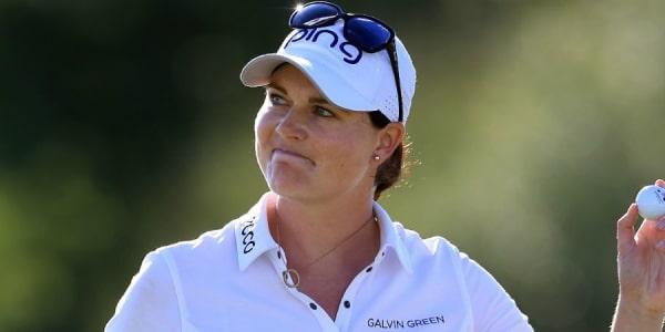 Caroline Masson steigt durch ihren ersten LPGA-Tour-Sieg in den Ranglisten auf. (Foto: Getty)