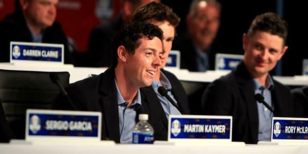 Unsere Experten Im Golf Post Talk rekapitulieren den Ryder Cup 2016. (Foto: Getty)