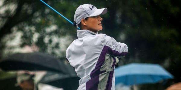 Windig und nass stellt kein Problem dar für Caroline Masson bei der Fubon LPGA Taiwan Championship. (Foto: Getty)