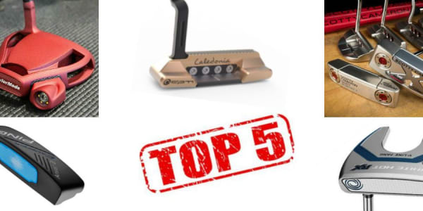 Diese Golf Putter fuhren 2016 weit über 50 Siege auf den großen Profi-Touren ein. (Foto: Scotty Cameron/TaylorMade/Ping/Caledonia/Odyssey)
