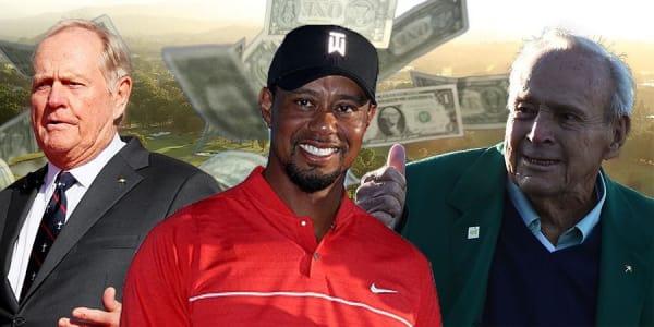 Das Forbes Magazin hat die reichsten Sportler der Geschichte in einer neuen Liste vorgestellt und es sind zahlreiche Golfer dabei.