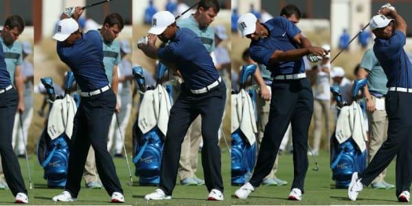 Nach seinem ersten Start seit 15 Monaten gab es zahlreiche Analysen des Schwungs von Tiger Woods. (Fotos: Getty)