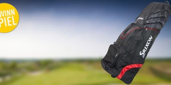 Sicher und komfortabel unterwegs mit dem Srixon Travelcover. Jetzt mitmachen und gewinnen! (Foto: Golf Post)