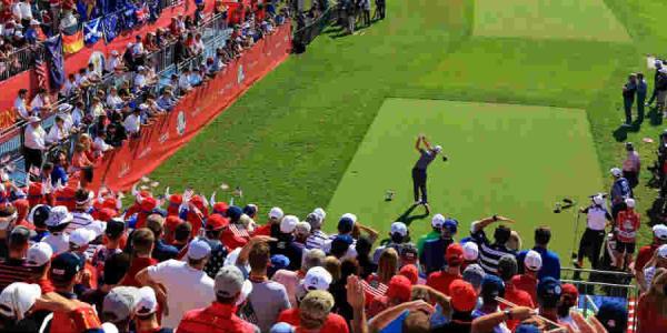 Mit dem neuen Team-Event GolfSixes möchte Keith Pelley Ryder-Cup-Atmosphäre einfangen. (Foto: Getty)