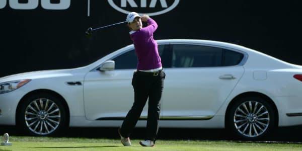 Caroline Masson sichert sich bei der KIA Classic eine Top-20-Platzierung. (Foto: Getty)