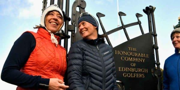 Ab sofort nehmen die Mitglieder der Honourable Company of Edinburgh Golfers auch Frauen in ihre Reihen auf. (Foto: Getty)