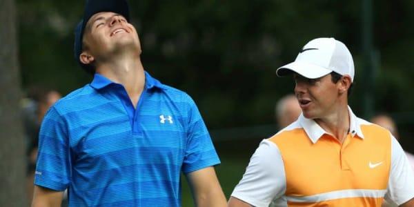 Jordan Spieth erlebt zum Auftakt des US Masters Tournament ein Deja-vu, Rory McIlroy wird zum neuen Favoriten.
