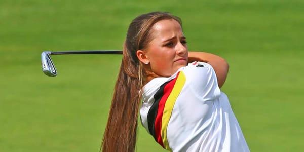 DGL Deutsche Golf Liga 2017 zweiter Spieltag Bundesliga Nord Stuttgarter GC Solitude Aline Krauter
