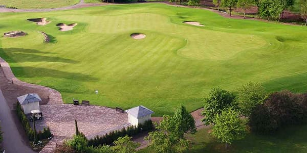 Das neue Wedge-o-Drom aus der Vogelperspektive. (Foto: Golf Club St. Leon-Rot)
