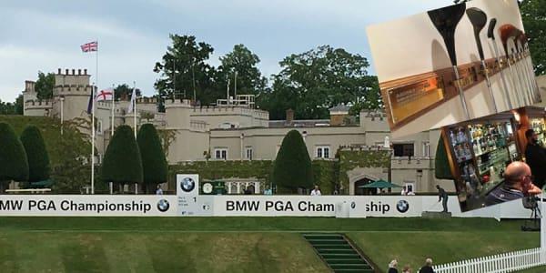Das Clubhaus des Wentworth Club lebt Golfgeschichte und ist gleichzeitig das Zentrum während der BMW PGA Championship.