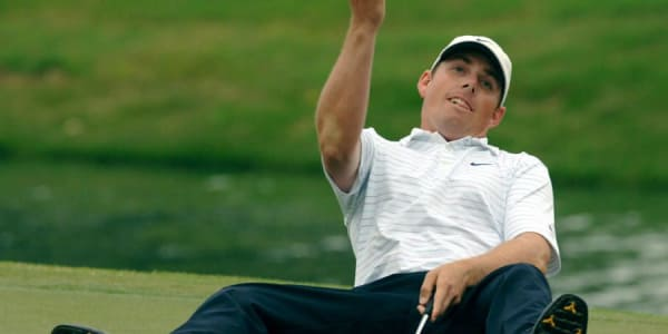 Rückwärts droppen? Diese kuriose Golfregel gibt es heute nicht mehr. (Foto: Getty)
