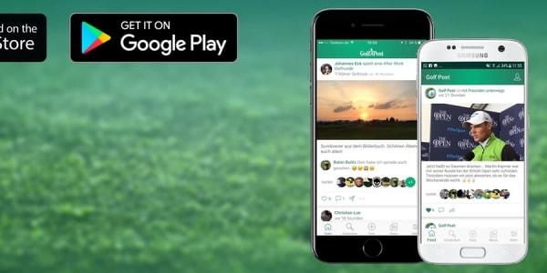 Die neue Golf Post App steht zum Download bereit. (Foto: Golf Post)