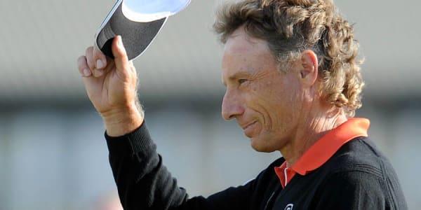 Bernhard Langer siegte 2014 in Royal Porthcawl bei der Senior Open Championship und stellte mehrere Rekorde auf. (Foto: Getty)