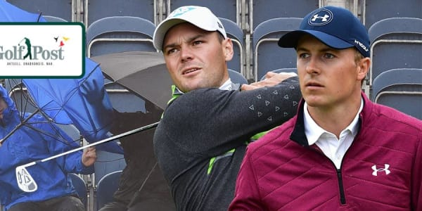 Während Martin Kaymer (l.) bei der British Open lange um den Cut zittern muss, zieht Jordan Spieth an der Spitze seine Kreise.
