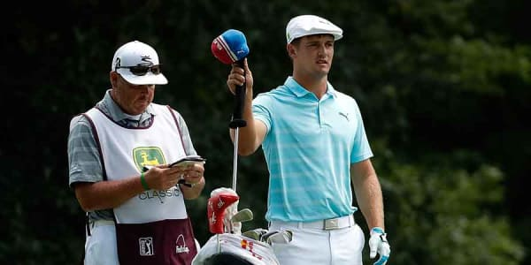 Bryson DeChambeau spielt Cobras One Length Eisen. (Foto: Getty)