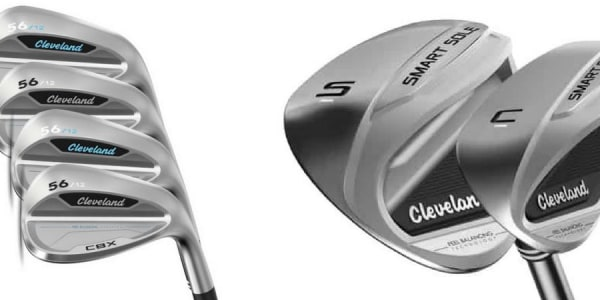Cleveland ist mit neuen Wedges am Start und will mit den Smart Sole 3 und CBX Wedges das kurze Spiel einfacher machen. (Foto: Cleveland Golf)
