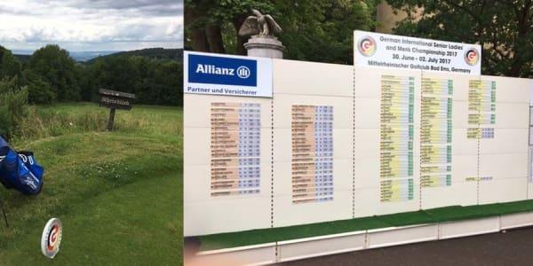 Golf Post Leserin Margret Frisch spielte zum dritten Mal bei der IAm AK 50 in Bad Ems und berichtet von ihren Erfahrungen bei einem der größten Amateurturniere in Deutschland.