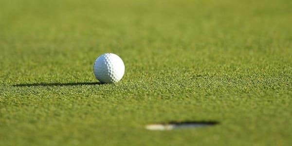 Der Backspin sorgt dafür, dass der Ball auf dem Grün liegen bleibt. (Foto: Getty)