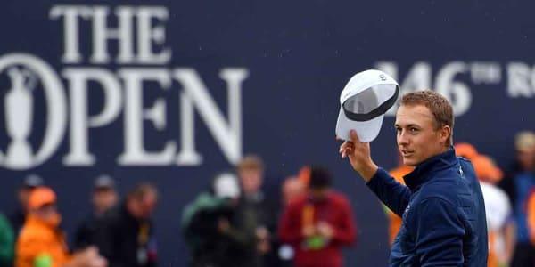 Jordan Spieth ließ Matt Kuchar bei der 146. British Open auf der Back Nine keine Chance. (Foto: Getty)