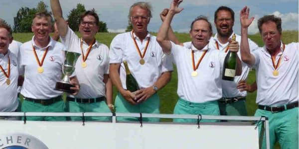 Golfclub Falkenstein holt ersten DMM-AK-50-Titel im Hofgut Praforst. (Foto: DGV/C&V Sport Promotion)