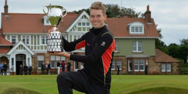 Der Berliner Falko Hanisch konnte im vergangenen Jahr die British Boys gewinnen - wie vor ihm etwa der aktuelle Masterssieger Sergio Garcia oder Ryder Cup-Spieler Matthewn Fitzpatrick. (Foto: R&A) Golfclub