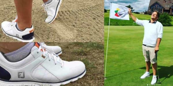 Der FootJoy Pro/SL hat den Golf Post Redakteur Robin Bulitz voll und ganz überzeugt. (Foto: Golf Post)