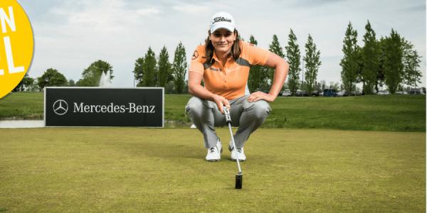 Wir verlosen einen exklusiven Golftag für zwei Personen auf Gut Heckenhof mit Proette Karolin Lampert. (Foto: Schillinger Pankratz)