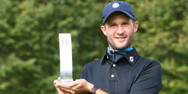 Christopher Godson triumphiert bei der H&H Golf PGA Club Professional Series. (Foto: PGA Germany)