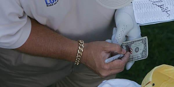 Fotostrecke Golflegenden heutiges Preisgeld im Golf