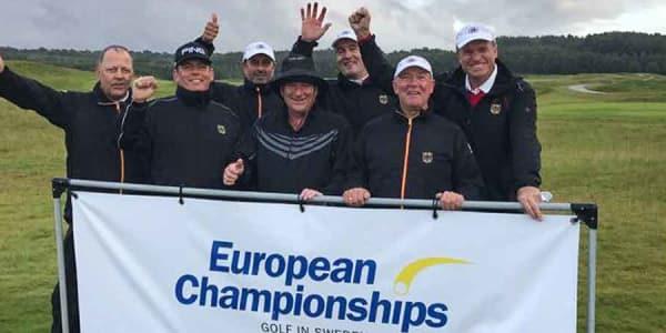 Die Deutschen Senioren landen auf Rang fünf. (Foto: EGA)