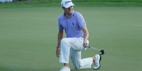 Justin Thomas nimmt seinen verpassten Sieg bei der Tour Championship und seine Saisonstatistik aufgrund des FedExCup- und PGA-Championship-Sieges recht locker. (Foto: Getty)