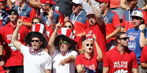 Presidents Cup 2017 Freitag Team USA Fans