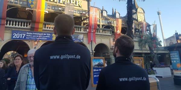 Team Golf Post zu Besuch im Europa-Park- und Golfclub Breisgau. (Foto: Golf Post)