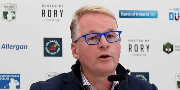Im Namen Keith Pelleys verkündet die European Tour Neuerungen im Race to Dubai. (Foto: Getty)