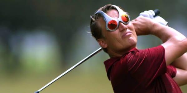 Verrückte Golfmode, die sich (zum Glück) nicht durchgesetzt hat. (Foto: Getty)