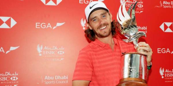Tommy Fleetwood gewinnt die Abu Dhabi HSBC Championship 2018. (Foto: Getty)