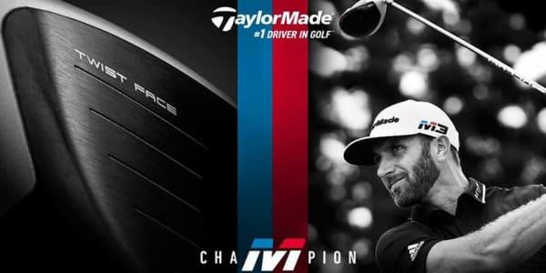 Pünktlich zur Veröffentlichung kann Dustin Johnson den ersten Sieg mit den neuen TaylorMade M3- und M4-Hölzern feiern. (Foto: Getty)