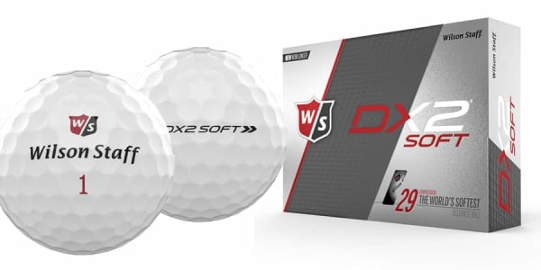 Wilson Staff DX2 Soft 2018 Golfball