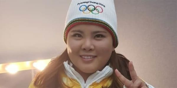 Inbee Park Fackelträgerin Olympische Winterspiele 2018