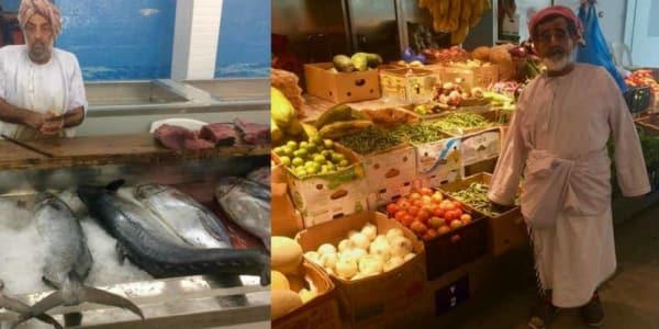 Typische Szenen auf einem Markt in Muscat, der Hauptstadt des Omans. (Foto: Jürgen Linnenbürger)