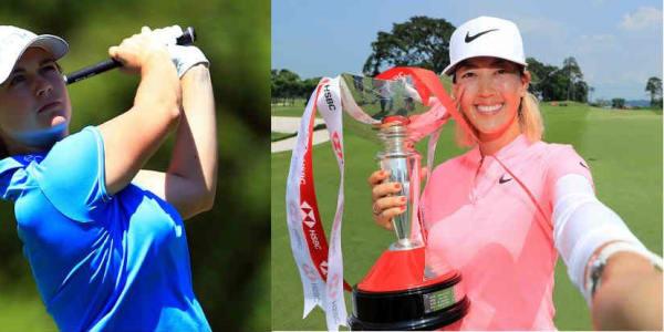 Caroline Masson mit Top-Ergebnis, Michelle Wie gewinnt wieder auf der LPGA Tour. (Foto: Getty, twitter.com/@LPGA)
